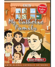 My Catholic Family: Saint Benedict DVD