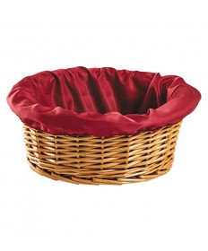 """Collection Basket Round 4"""" Deep with Liner"""