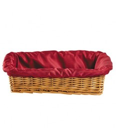 """Collection Basket Rectangular 4"""" Deep with Liner"""
