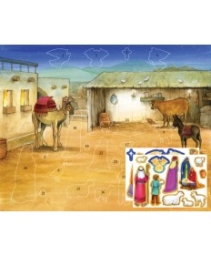 Advent Calendar with Stickers - Bethlehem's Child