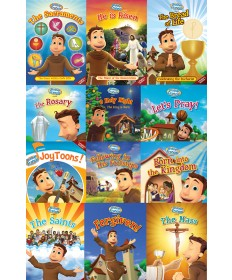 Brother Francis 12-DVD Combo Set