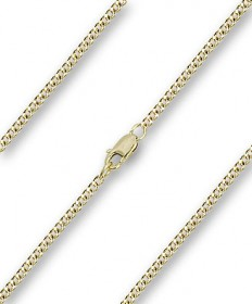 "18"" Chain Gold Filled with Clasp (2.15mm)"
