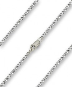 "18"" Chain Sterling Silver with Clasp (2.15mm)"