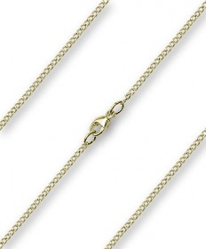 "18"" Chain Gold Plate with Clasp (1.70mm)"