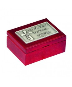Deacon's Cherry Wood Keepsake Box