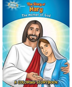 Brother Francis: The Story of Mary Coloring & Activity Book