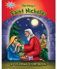 Brother Francis: The Story of Saint Nicholas Coloring & Activity Book