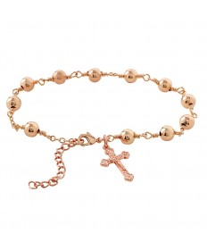 First Communion Girl's Rosary Bracelet