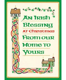 "Christmas Cards ""Irish Blessing"""