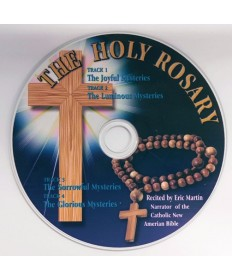 Holy Rosary CD Recited by Eric Martin