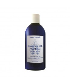 Immaculate Waters Natural Lavender Bath and Shower Liquid Soap