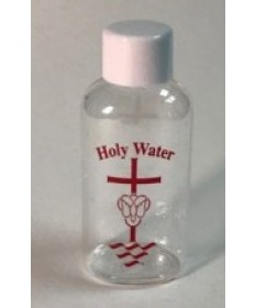 Holy Water Plastic Bottle 2 oz