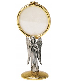 "Chapel Monstrance with Two-Tone Finish 6-3/4""H"