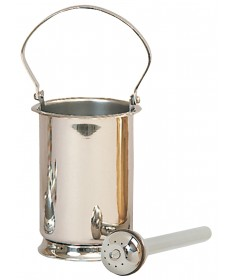Holy Water Pot with Sprinkler and Liner