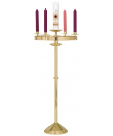 Advent Wreath Stand and Paschal Candlestick