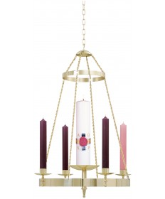 Advent Wreath - Hanging