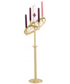 Advent Wreath Stand - Adjustable