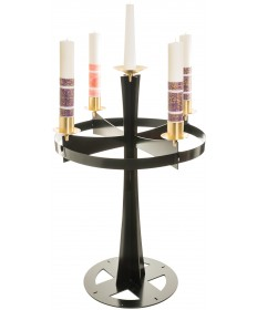 Advent Wreath Stand - Black