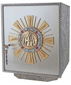 """Tabernacle with Gold Rays 15-1/4""""H"""