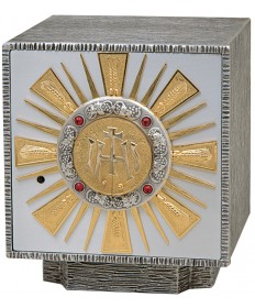 """Tabernacle with Gold Rays 11-1/4""""H"""