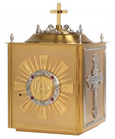 Tabernacle Gold with Silver Accents