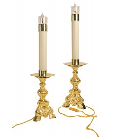 Altar Candlestick by Koley Co - Electrified