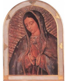 "Our Lady of Guadalupe Plaque 23"" x 31"""