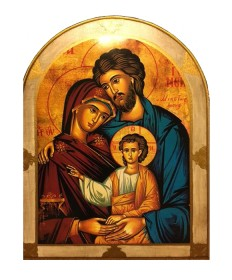 "Holy Family Plaque 23"" x 31"""