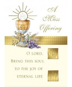 Mass Cards for Deceased - A Mass Offering