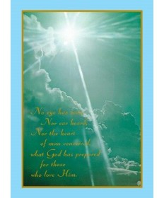 Mass Cards for Deceased - No Eye Has Seen