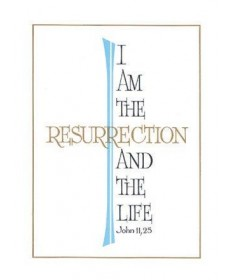 Mass Cards for Deceased - I am the Resurrection