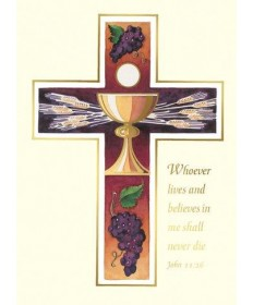Mass Cards for Deceased - John 11:26