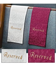 Pew Reservation Cloth