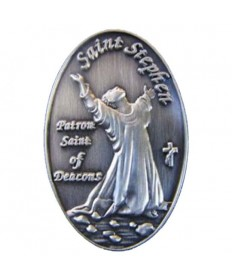 Saint Stephen Deacon Pin