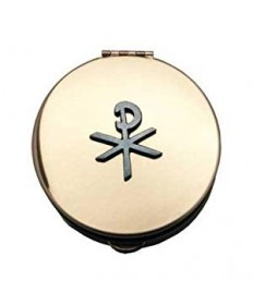 Pyx with Chi-Rho Emblem (12 - 15 Hosts)