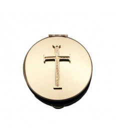 Pyx with Cross Emblem (6 - 9 Hosts)