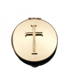 Pyx with Cross Emblem (12 - 15 Hosts)