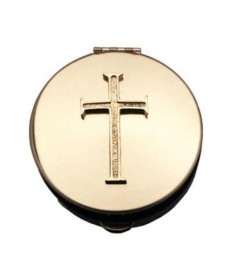 Pyx with Cross Emblem (20 - 25 Hosts)