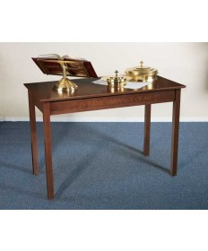 Silk-Screened Communion Table by Robert Smith