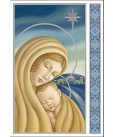 "Christmas Cards ""Madonna and Child"""