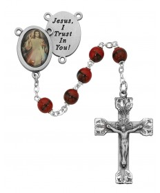 7 mm Divine Mercy Rosary