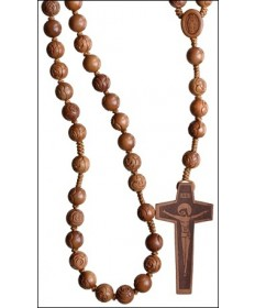 Jujube Wood 12 mm Rosary