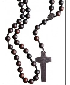 Jujube Wood 13 mm Rosary