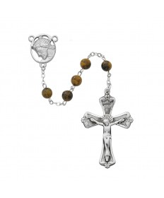 6 mm Genuine Tiger Eye Beads Rosary
