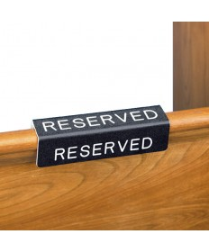 Pew Reservation Sign Fits over the Pew