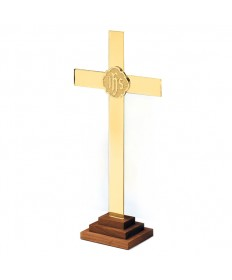Altar Cross - Chapel Line in Brass