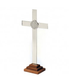 Altar Cross Silverplate - Chapel Line
