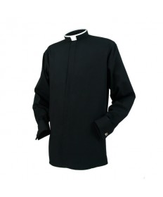 Clergy Shirt by Reliant - Tonsure Long Sleeve (Larger Sizes)