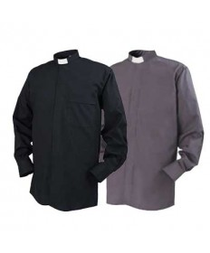 Clergy Shirt by Reliant - Tab Collar Long Sleeve (Sizes 15-17)