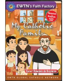 My Catholic Family: Saint Dominic de Guzman DVD